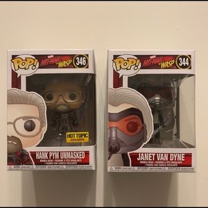 Hank & Janet-Ant-Man-WASP-Funko Pop!
